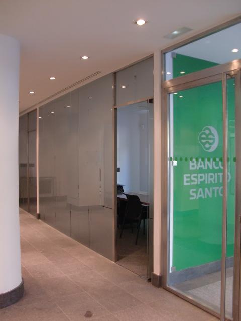 Entrega oficina banco espirito santo barcelona bojuna for Banco espirito santo oficinas