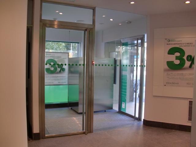 Entrega oficina banco espirito santo barcelona bojuna for Oficinas banco santander valencia